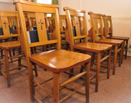 Congregational chairs