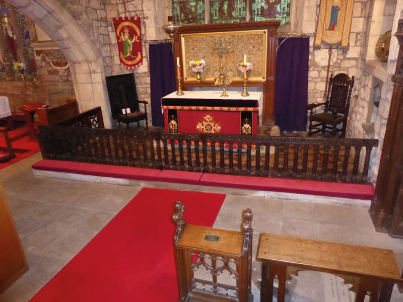 Church Cushion Co Communion And Altar Rail Kneelers