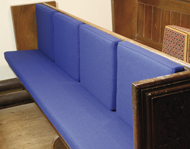 Church Pew Backrest Cushions